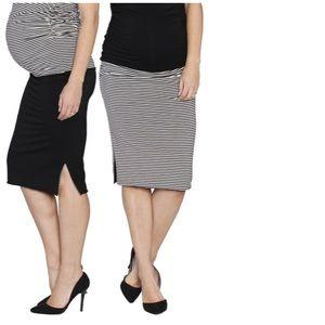 ea2d1e036f34d Angel maternity reversible skirt
